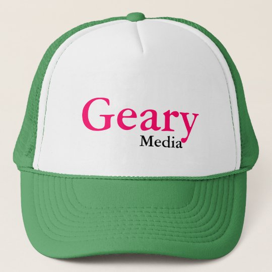 Geary Media Trucker Hat