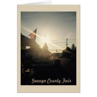 Geauga County Fair, Ohio Greeting Card