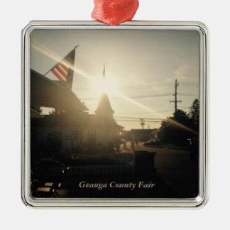 Geauga County Fair, Ohio Holiday Card Christmas Ornament