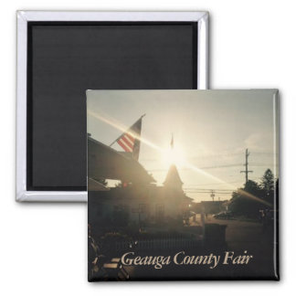 Geauga County Fair, Ohio photo Magnet