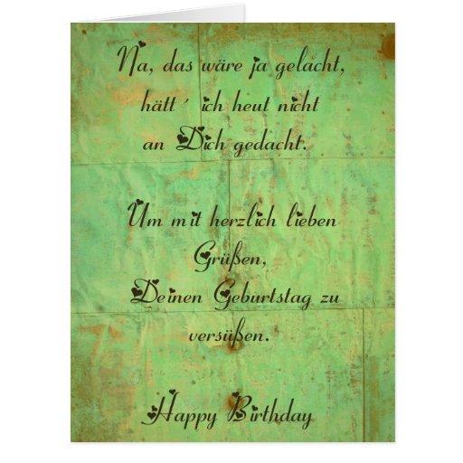 Geburtstagskarte 1 greeting cards