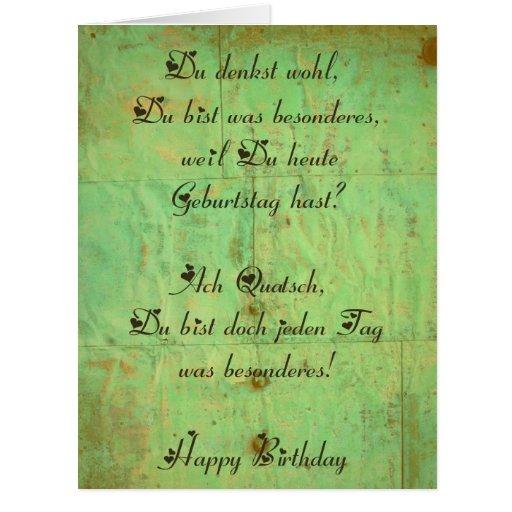 Geburtstagskarte 2 greeting cards