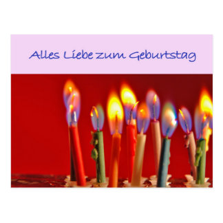Geburtstagskarte Postkarten