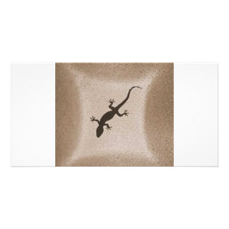 GECKO 1 PERSONALISED PHOTO CARD