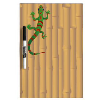 gecko and bamboo dry erase board
