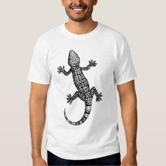 GECKO BLACK AND WHITE Basic T-Shirt