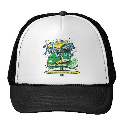 Gecko Charlies Margarita-Cocktail-Lounge Trucker Hats