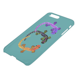 Gecko Dance iPhone7 Plus Clearly™ Deflector Case