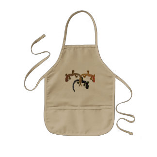 Gecko Dance Kids Apron