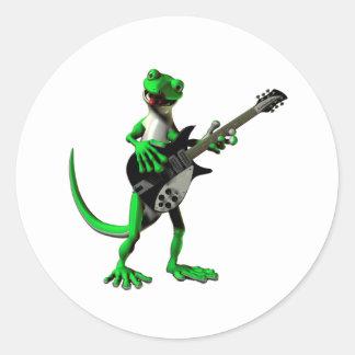 Gecko Electric Guitar Stickers