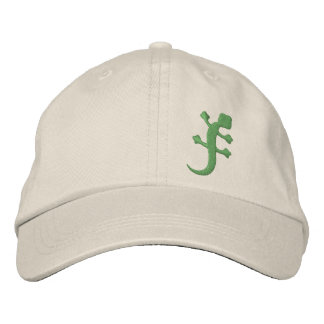Gecko Embroidered Hat
