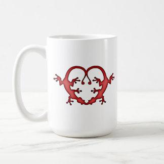 Gecko Heart Coffee Mug