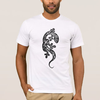 Gecko Henna Drawing T-shirt by Cyn Mc