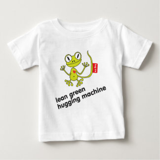 Gecko lean green hugging machine - Hug me Baby T-Shirt