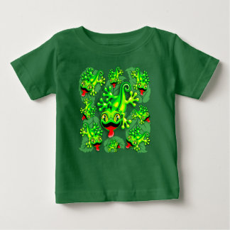 Gecko Lizard Baby Cartoon Baby T-Shirt