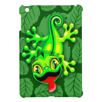 Gecko Lizard Baby Cartoon iPad Mini Cases