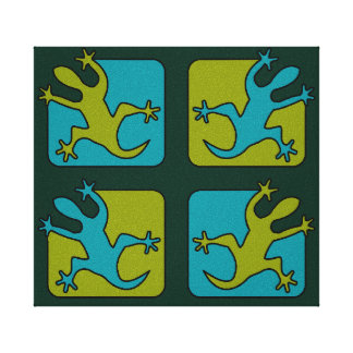 Gecko / Lizard canvas print