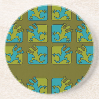 Gecko / Lizard coaster, customize Coaster