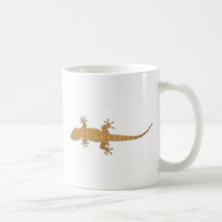 gecko lizard coffee mug