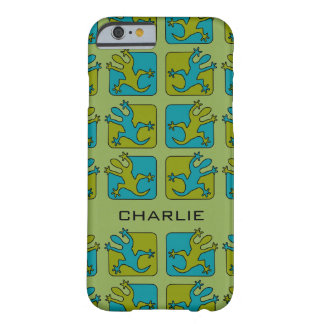 Gecko / Lizard custom name phone cases