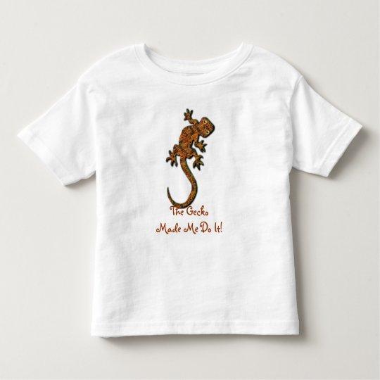 Gecko Lizard Funny Animal-lover Kid's Shirt