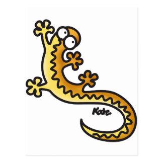 Gecko - Salamander Postcard