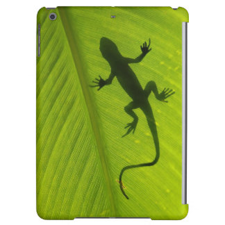 Gecko Silhouette Cover For iPad Air