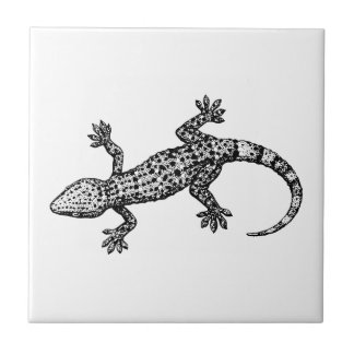 Gecko Small Square Tile