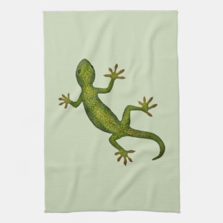 Gecko Tea Towel