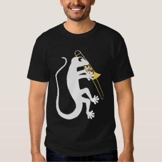 Gecko Trombone Shirt (dark shirts)