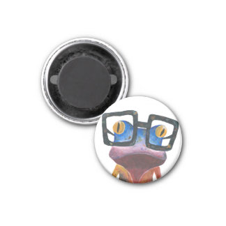 Gecko with Glasses Magnet