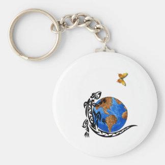 Gecko World Key Ring