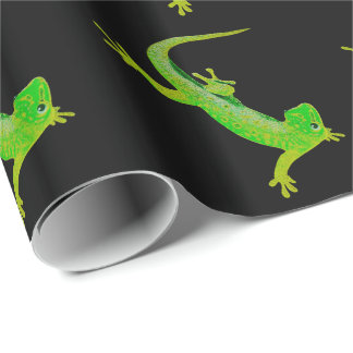 Gecko Wrapping Paper