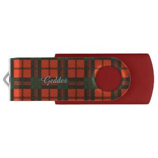 Geddes clan Plaid Scottish kilt tartan USB Flash Drive