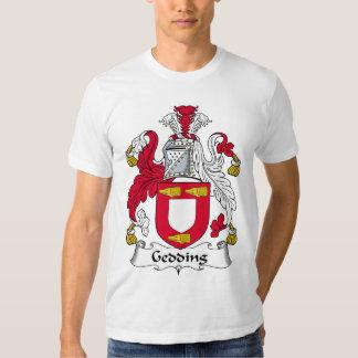 Gedding Family Crest Tee Shirts