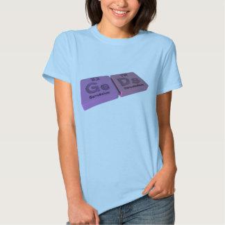 Geds as Ge Germanium and Ds Darmstadtium Tshirt