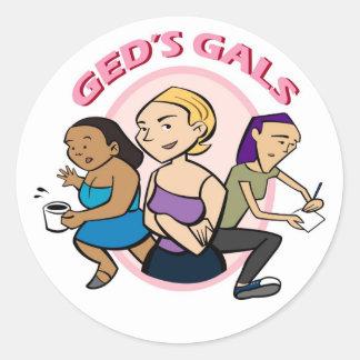 Ged's Gals Sticker