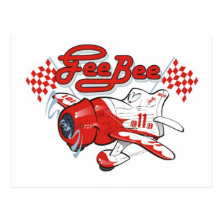 gee bee racer postcards