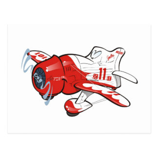 gee bee racer post cards