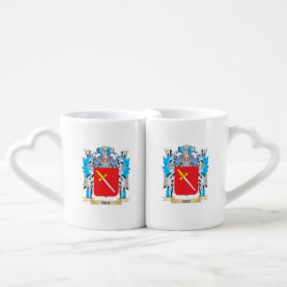 Gee Coat of Arms - Family Crest Couple Mugs