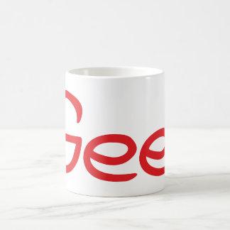 Gee! Coffee Mugs