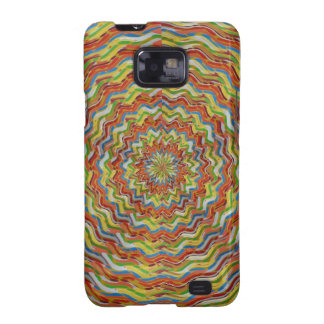 GEE SPOT Pleasure WAVES in GOLD ENJOY SHARE Samsung Galaxy S2 Covers