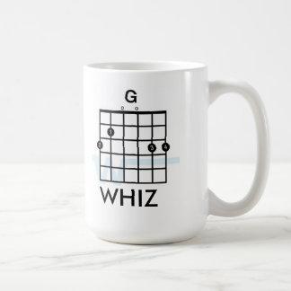 Gee Whiz Guitar Mug