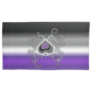 Geebot's ace colors cozy pride flag pillowcase