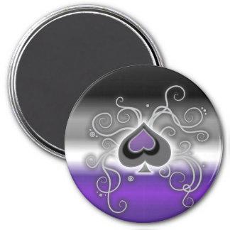 Geebot's ace spades pride flag magnet customisable