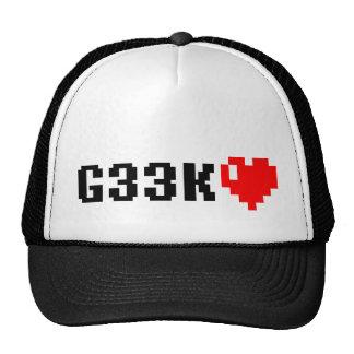 Geek <3 mesh hat