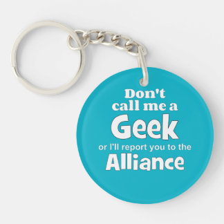 Geek Alliance wf Acrylic Key Chains