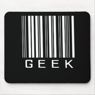 Geek Barcode Mouse Pad