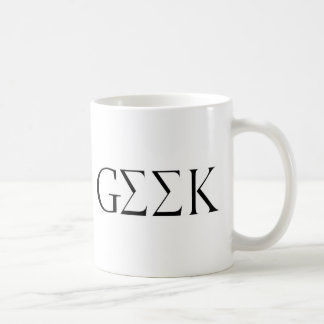 GEEK BASIC WHITE MUG