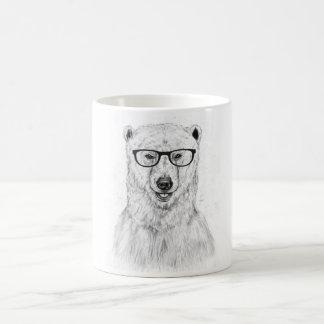 Geek bear basic white mug